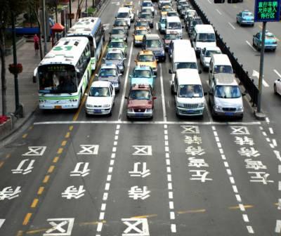 چین کا پیٹرول گاڑیوں پر پابندی کا فیصلہ، منصوبہ بندی شروع