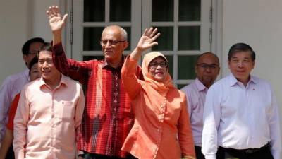 سنگا پور، حلیمہ یعقوب ملک کی پہلی مسلمان خاتون صدر منتخب