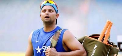 بھارتی کرکٹر سریش رائنا کار حادثے میں بال بال بچ گئے