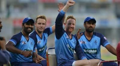 ورلڈ الیون نے سنسی خیز مقابلے کے بعد پاکستان کو 7 وکٹوں سے شکست دیدی