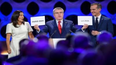پیرس کو 100 سال بعد اولمپکس کی میزبانی مل گئی