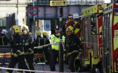 لندن ٹرین دھماکہ، اٹھارہ سال کے مشتبہ شخص کو گرفتار کر لیا گیا