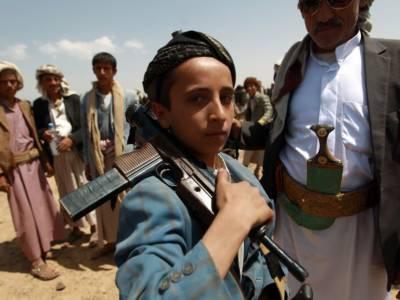 حوثیوں نے صنعاءسے اغواءبچے جنگ میں جھونک دیئے