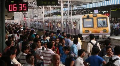 ممبئی میں ریلوئے لائن پار کرتے 12 افراد ہلاک ،13زخمی