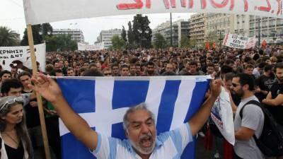 یونان میں نسلی امتیاز کے خلاف مظاہرہ، ٹرمپ کی پالیسیوں کی مذمت