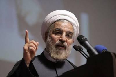 ایران کے حقوق پامال کرنے والوں کو جواب دیاجائیگا،ایرانی صدر روحانی