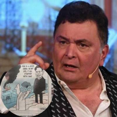 طنزیہ مذاق پر رشی کٌپور نے نجی اخبار کو آڑے ہاتھوں لے لیا