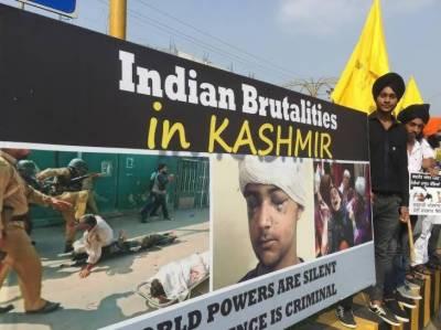 بھا رت کی سازش کا جواب ، پاکستان نے مقبوضہ کشمیر میں بھارتی فوج کے مظالم کیخلاف پوسٹرز جنیوا میں آویزاں کردیئے