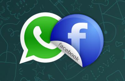 فیس بک ایپ میں واٹس ایپ کا بٹن متعارف
