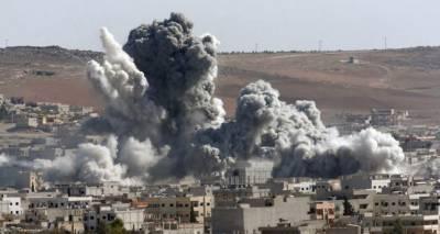 شام میں روس کے فضائی حملے ،گذشتہ 24گھنٹوں میں قریباً 850 جنگجو ہلاک