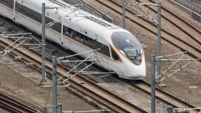 چین میں 350کلومیٹر فی گھنٹہ کی رفتار سے تیز ترین ٹرین سروس کا آغاز