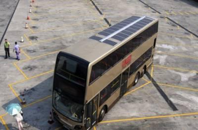 شمسی توانائی سے چلنے والی بسیں تیار