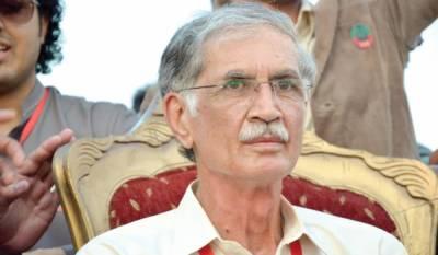 پاکستان کو ڈاکو راج نے تباہ کر دیا ہے : پرویز خٹک
