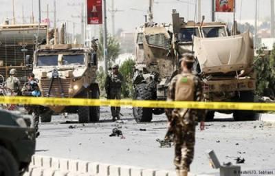 نیٹو کے فوجی قافلے پر خود کش حملہ