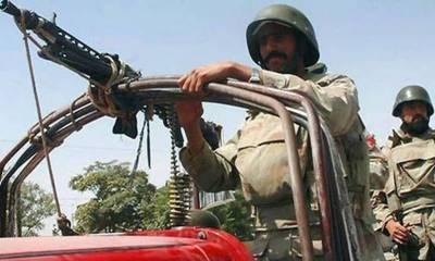 ایف سی بلوچستان کا صوبے کے مختلف حصوں میں آپریشن، 4مطلوب دہشتگرد مارے گئے