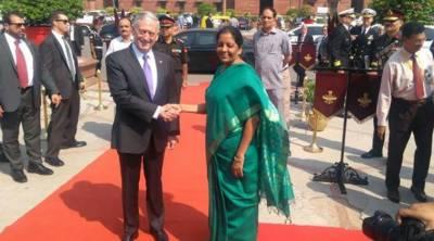 امریکی وزیر دفاع بھارت کے دو روزہ دورے پر نئی دہلی پہنچ گئے