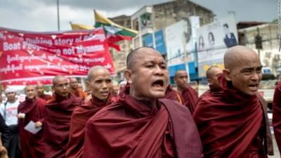 مسلمانوں کی نسل کشی کی خبریں غلط ہیں : میانمار