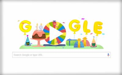 گوگل کی انیسویں سالگرہ دھوم دھام سے منائی جارہی ہے