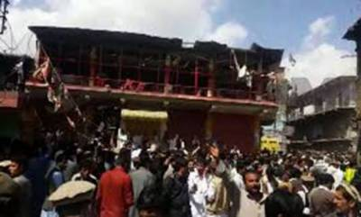 کابل میں امام بارگاہ کے قریب خودکش دھماکے میں 22 افراد جاں بحق