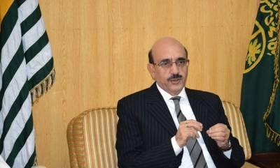 برطانوی ارکان پارلیمنٹ مسئلہ کشمیر کے حل میں ہماری مدد کریں: سردار مسعود خان