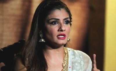 اداکارہ روینہ ٹنڈن کی قابل اعتراض فلم شب پر پابندی عائد
