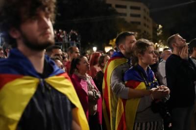 سپین میں کاتالونیہ نے الگ ریاست بننے کا ریفرنڈم حاصل کر لیا