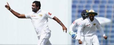 سری لنکن سپنرزکی تباہ کن باﺅلنگ ! پاکستانی ٹیم پر شکست کے بادل منڈلانے لگے