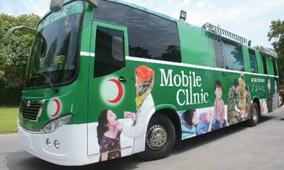 پشاور کے ریسکیو 1122 نے ایک چلتا پھرتا ہسپتال بنا ڈالا