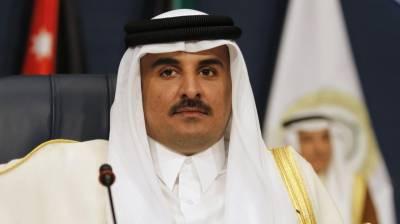 امیر قطر سے ایران کے وزیر خارجہ کی ملاقات