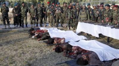 افغانستان میں سکیورٹی فورسز کے آپریشن کلین اپ میں طالبان کا بڑا نقصان