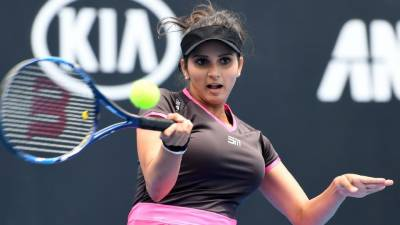 """ثانیہ مرزا کی """"چائنہ اوپن ٹینس ٹورنا منٹ"""" میں جیت کے ساتھ شروعات"""