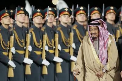 سعودی عرب کے فرمانروا شاہ سلمان ماسکو پہنچ گئے