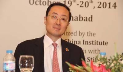 چینی سفیر سن وی ڈونگ کو ہلال پاکستان کا اعزاز عطا کر دیا گیا