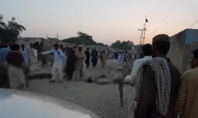جھل مگسی، درگاہ خودکش دھماکے میں ہلاکتوں کی تعداد 21 ہو گئی