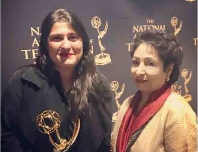 شرمین عبید چنائے نے شارٹ فلم ' اے گرل ان دی ریور' پر ایمی ایوارڈ جیت لیا