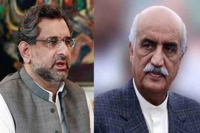 خورشید شاہ کی وزیراعظم سے ملاقات، چیئرمین نیب کیلئے مختلف ناموں پر مشاورت