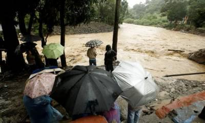 وسطی امریکا طوفان ''نیٹ ''کی تباہ کاریاں، 22 افراد ہلاک، 20 لاپتہ،لاکھوں بے گھر
