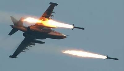 شام میں روس کی فضائی بمباری، 7کمانڈروں سمیت 49 جنگجو ہلاک