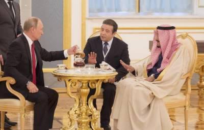 شاہ سلمان کا دورہ روس ،رشین چائے میڈیا کی توجہ کا مرکز بن گئی