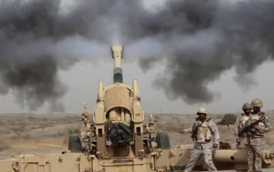 سعودی فورسز کی یمن پر گولہ باری سے 40 حوثی باغی ہلاک