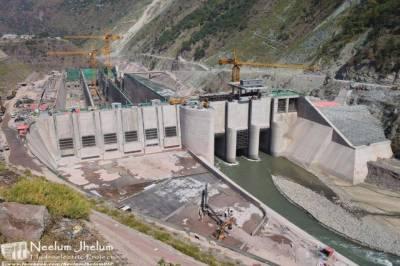 نیلم جہلم منصوبے پر کام تیزی سے جاری، تازہ تصاویر سامنے آگئیں