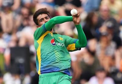 محمد عامر ون ڈے سیریز سے باہر