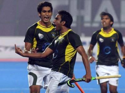پاکستان ہاکی ٹیم نے ڈھاکہ میں فتح کے جھنڈے گاڑھ دیئے