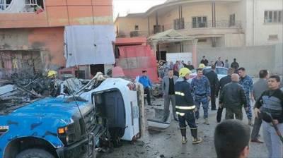 عراق، ایک کیفے میں خودکش دھماکا، 11 افراد ہلاک