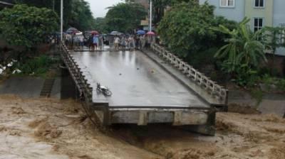 ویتنام میں طوفان و لینڈسلائیڈنگ سے 37افراد ہلاک
