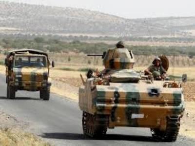 شام میں کنٹرول چوکیوں کے قیام کے لئے ترک مسلح افواج کی کاروائیاں جاری