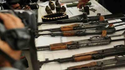 رینجرز نے کراچی کو تباہی سے بچا لیا، چھپایا گیا اسلحہ برآمد