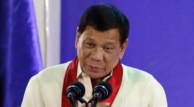 فلپائن میں انقلابی حکومت کا قیام ممکن ہے، ڈوٹیرٹے