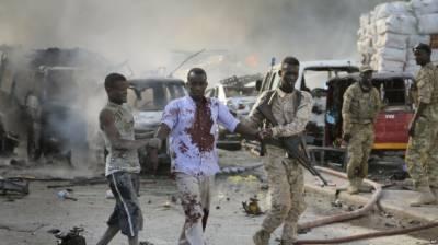 موغادیشو میں بم دھماکے کے نتیجے میں کم ازکم 20 افراد ہلاک