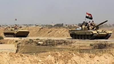 عراقی اور کرد فوج کے درمیان جھڑپیں شروع